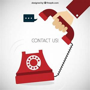 Contact us concept Vector | Free Download
