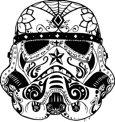 Star Wars Mandala Coloring Pages Best Of Stormtrooper