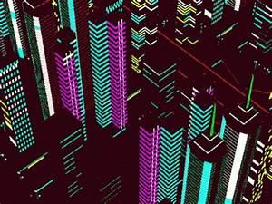Neon City GIF Neon City Retro Discover & GIFs