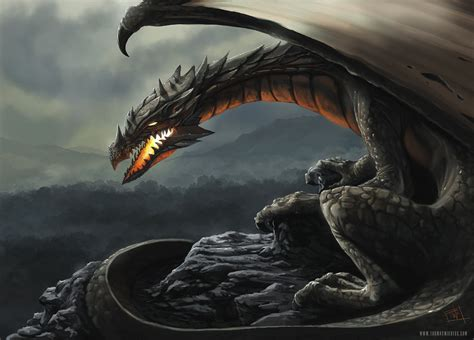 Dragon By Thomaswievegg On Deviantart