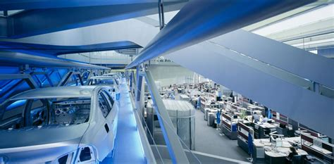 Bmw Central Building In Leipzig, Germany By Zaha Hadid