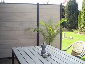 Obi Pflanzkübel Beton : best 25 sichtschutz wpc ideas on pinterest ~ Watch28wear.com Haus und Dekorationen