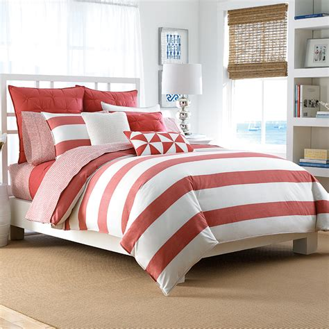 nautica lawndale coral bedding collection from