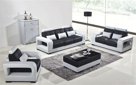 white leather sofa set divani casa t322b modern white black eco leather sofa set