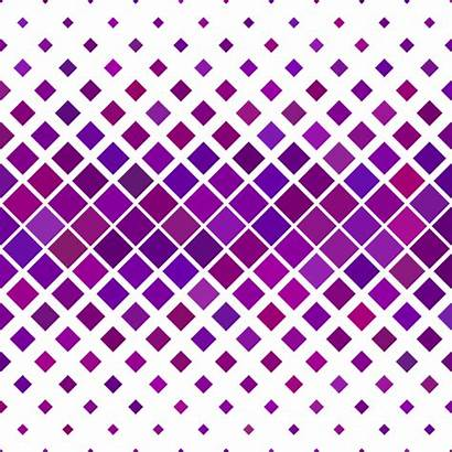 Purple Pattern Square Diagonal Horizontal Vector Background