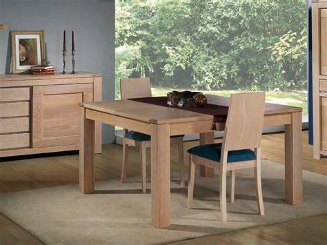 table de repas en ch 234 ne massif format carr 233 avec allonge meubles bois massif