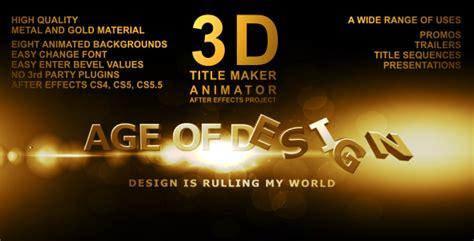 title maker animator  mikka videohive