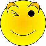 Smiley Face Wink Emoticon Smileys Laughing Clipart