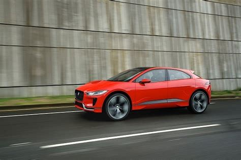 jaguar  pace ev side view     suv models