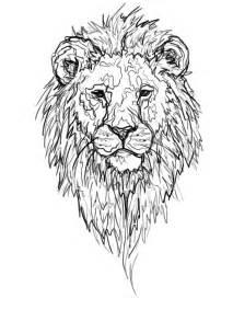 Lion Mandala Tattoo Drawings