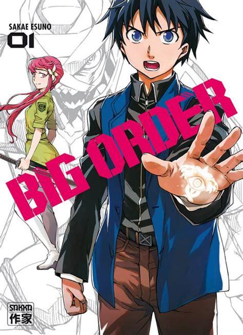 big order data de estreia  anime revelada anime xis