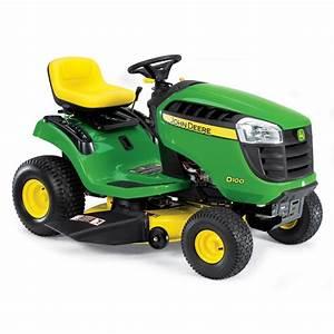 """Shop John Deere D100 17 5-HP Manual 42"""" Riding Lawn Mower"""