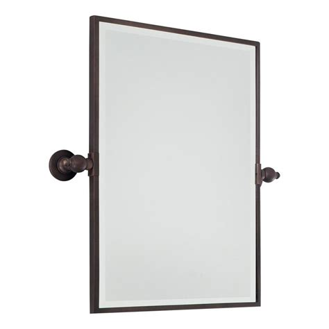 Bathroom Tilt Mirror by Rectangular Tilt Bathroom Mirror Available In 3 Colors