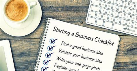 start  business  ultimate checklist bplans