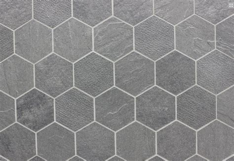 bathroom flooring ideas everstone 39 durastone 39 porcelain hexagon tile in steel grey