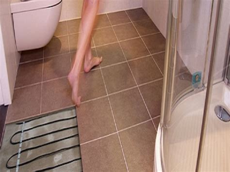 Heated Bathroom Floor Systems In Floor Heating For Ceramic Tile Heated Tile Floor
