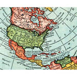 Gleason Flat Earth Map 1892