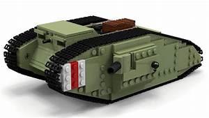 Lego Wwi Mark Iv Tank Instructions