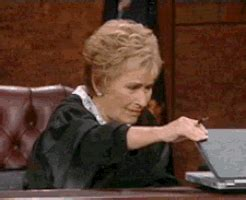 Funny Gif Memes - traumatized judge judy gif find share on giphy