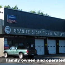 granite state tire battery tyres 945 hanover st