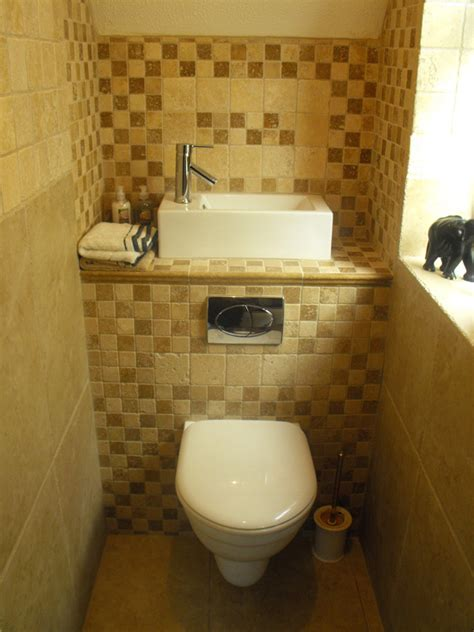 bathroom sink ideas small space small cloakroom toilet clever space saving sink with