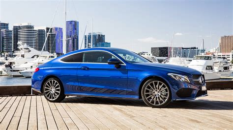 Mercedes C Class Coupe Wallpaper by Wallpaper Mercedes C Class Amg C205 Coupe Blue Cars