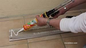 Pose De Plinthe Carrelage : coller des plinthes en carrelage avec du sikaflex t2 youtube ~ Melissatoandfro.com Idées de Décoration