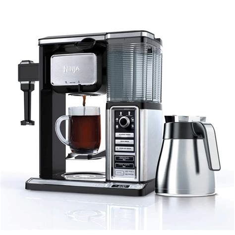 Not everyone who drinks coffee wants to always go down to the local cafe and stand in those long lines to get one of their favorite coffee beverages.there could be a lot of reasons for this. Ninja Coffee Bar Brewer System with Stainless Thermal Carafe (CF097) - TVOUTLET.CA