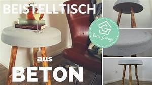 Beton Tisch Diy : betontisch selber bauen beistelltisch diy tisch aus ~ A.2002-acura-tl-radio.info Haus und Dekorationen