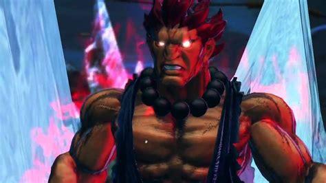 Street Fighter X Tekken M Bison And Akuma Gameplay Trailer