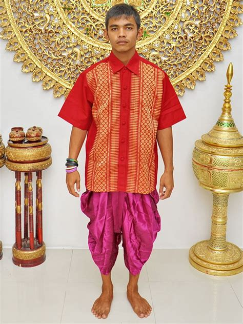 Thai Costumes Male Set  Loincloth Page 003  Wedding Accessory