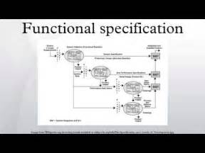 functional design functional specification