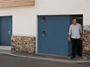 portes de garage du fabricant novoferm porte de garage With porte de garage laterale motorisée avec portillon