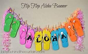 Flip Flop Aloha Banner