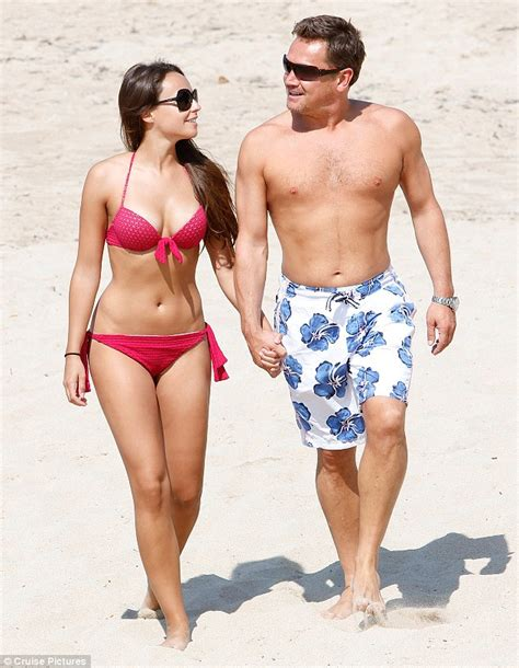 eastenders star sid owen with on off girlfriend polly