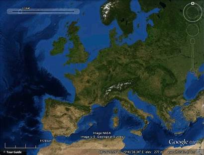 Europe Animated Historical Imagery Earth Map Google