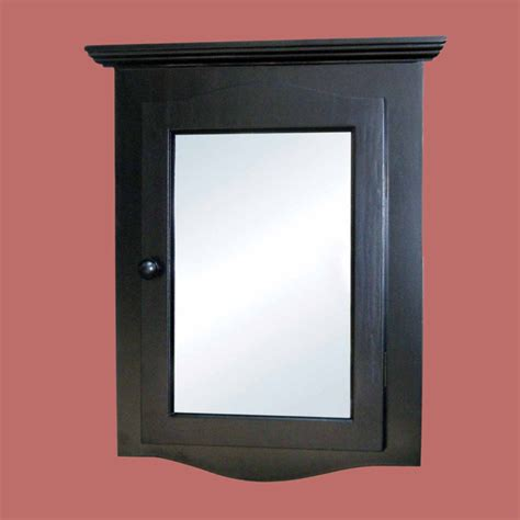 black medicine cabinet bathroom black painted wood corner medicine cabinet with