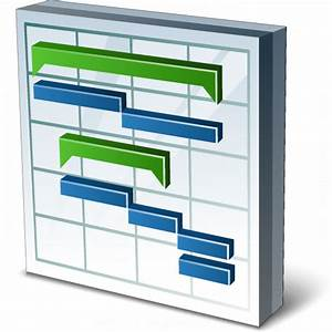 IconExperience » V-Collection » Chart Gantt Icon