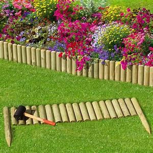 Kleiner Gartenzaun Holz : steckzaun 100 cm zaunh he 20 cm aus holz f r beeteinfassung rasenkante ~ Bigdaddyawards.com Haus und Dekorationen