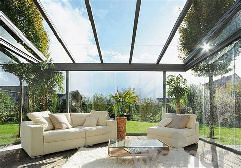 Glass Porch Roof by Terrazza Glass Patio Roof Savills The Awning Company Ltd