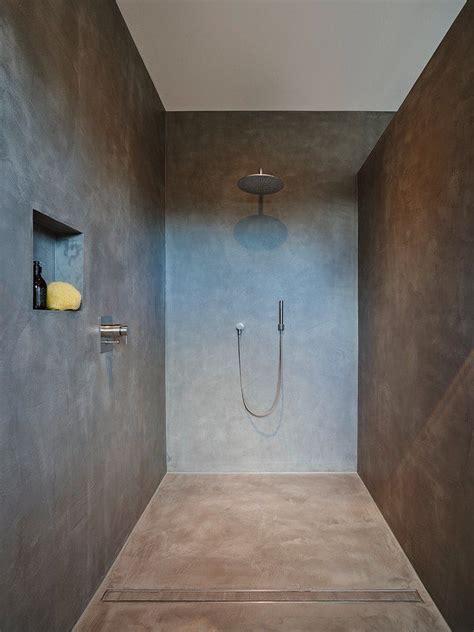 Badezimmer Fliesen Größe by Eine Dusche Ohne Fliesen Badezimmer In 2019 Fugenloses