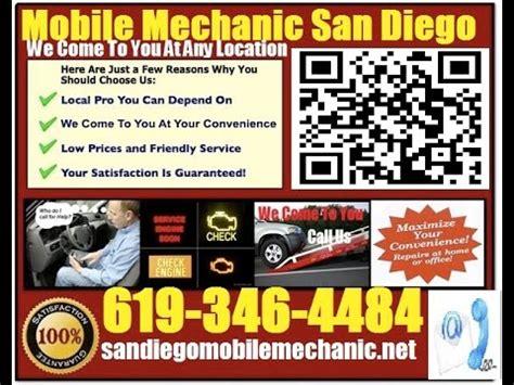 mobile mechanic el cajon ca auto car repair service shop