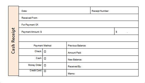money receipt templates doc pdf free premium