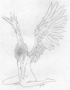Flying Angel Sketches | www.imgkid.com - The Image Kid Has It!