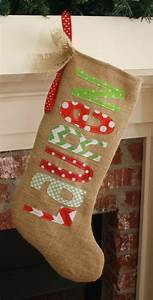 427 best machine embroidery applique images on pinterest With christmas stocking with iron on letters