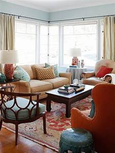 design ideas for a red living room better homes and With bhg living room design ideas