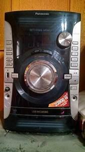 Vendo Cd Stereo System Panasonic Modelo Sa Pm23