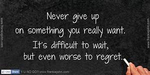 I Will Never Give Up On You Quotes. QuotesGram
