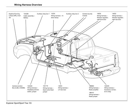 Ford Explorer Wiring Harness Auto Diagram