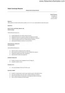 luxury hotel concierge resume resume exles groundskeeper ebook database